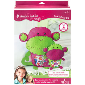 Monkeys Sew & Stuff Kit_30-677388