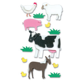 Foam Farm Animal Stickers_SPJH005