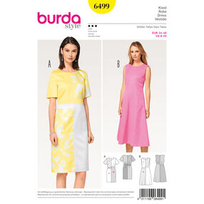 Burda Style Pattern B6499 Misses' Dress