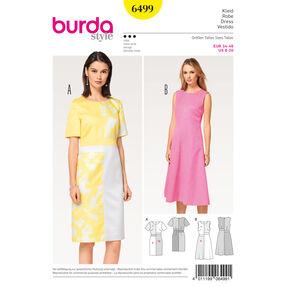 Burda Style Pattern B6499 Misses' Dress