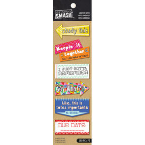 K&Company SMASH Studying Adhesive Notes_30-685833