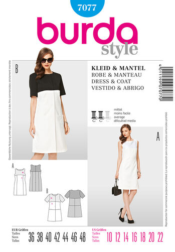 Burda Style Dress & Coat