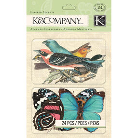 Merryweather Bird & Butterfly Layered Accents_30-656079