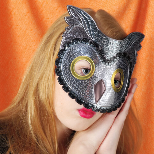 Owl Decorative Mask_48-20308