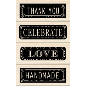 Everyday Expressions Wood Stamp Set_60-10144