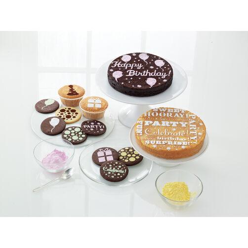 Modern Festive Cupcake and Cake Stencils_44-20077
