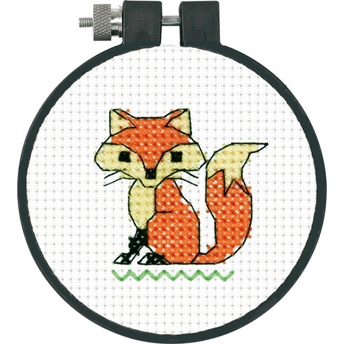 Fox in Counted Cross Stitch_72-73987