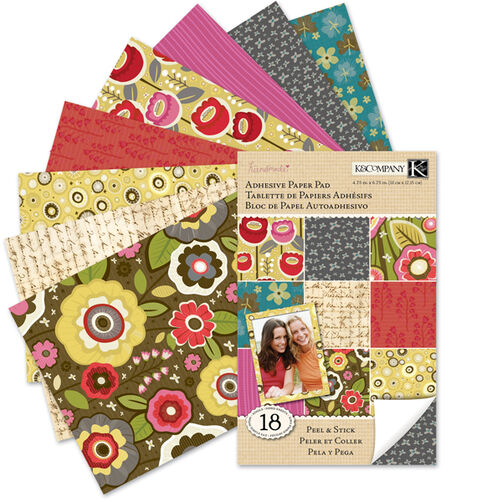 Handmade Cara Marie Adhesive Paper Pad_30-320215