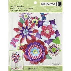 Woodland Valentine Paper Flower Crafting Pad_30-680951
