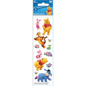 Winnie The Pooh Dimensional Stickers_51-40010