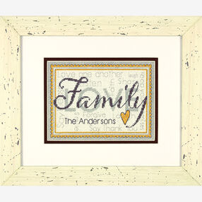Family in Counted Cross Stitch_70-65140