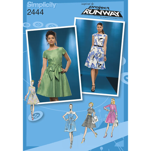 Simplicity Pattern 2444 Misses' Dresses