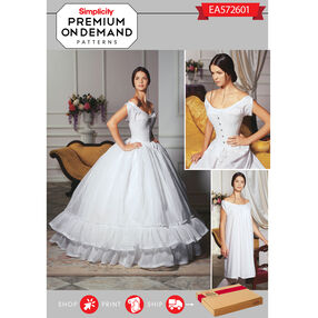 Simplicity Pattern EA572601 Premium Print On Demand Costume Pattern