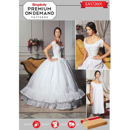 Pattern for premium print on demand costume pattern for Premium on demand