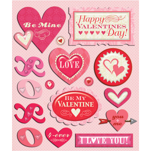 Valentine's Day Sticker Medley_30-587106