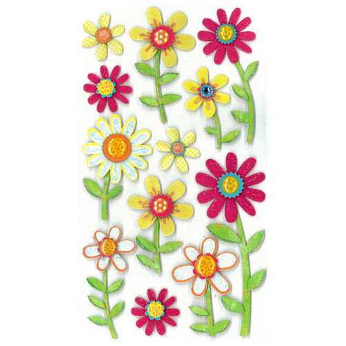 Large Daisy Stickers_50-50289