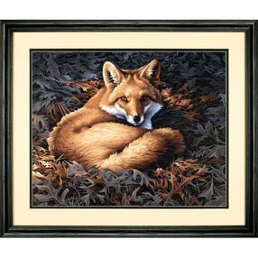 Sunlit Fox, Paint by Number_91380
