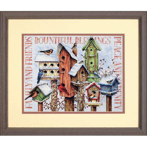 Winter Housing, Counted Cross Stitch_70-08863