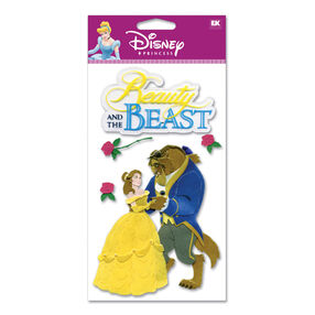 Beauty And The Beast Dimensional Stickers_DJBCM22