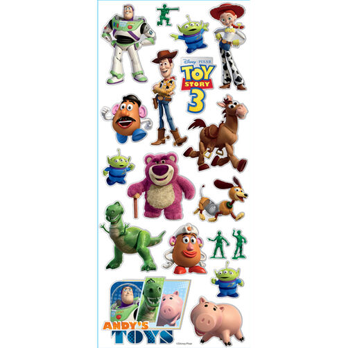 Toy Story 3 Large Stickers_53-60021