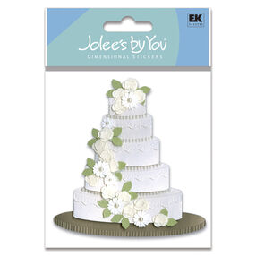 Wedding Cake Sticker_JJJA114C