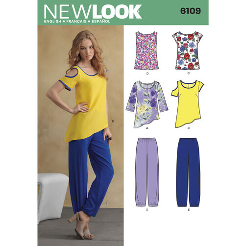 New Look Pattern 6109 Misses' Sportswear