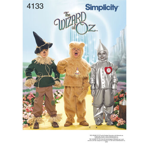 Simplicity Pattern 4133 Child's Costumes