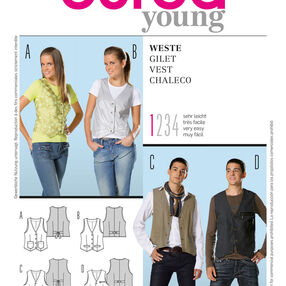 Burda Style Pattern 7810 Vest