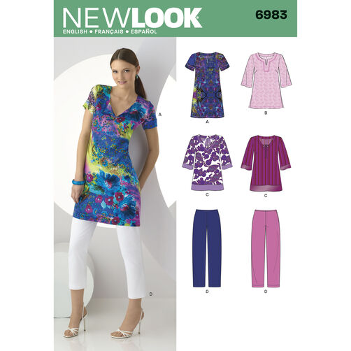 New Look Pattern 6983 Misses' Separates
