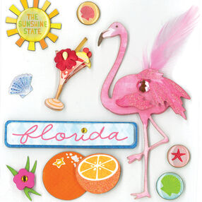 The Sunshine State Dimensional Sticker  _30-577954