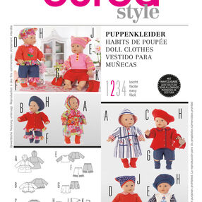Burda Style Pattern 7903 Doll Clothes