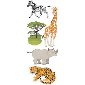 Safari Animals Stickers_SPJJ205