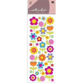 Happy Flower Stickers_52-30068