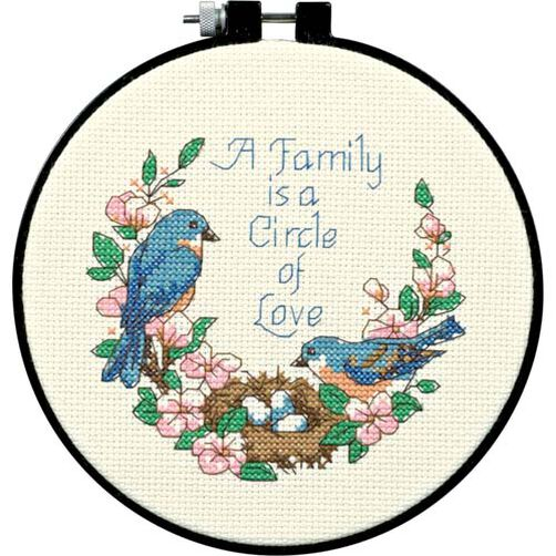 Family Love, Counted Cross Stitch_72900
