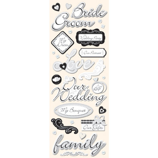 Wedding Adhesive Chipboard_566613
