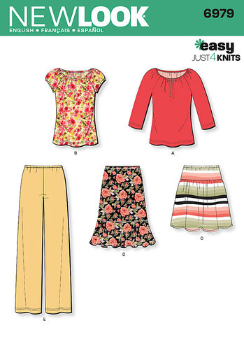 Misses' Knit Separates
