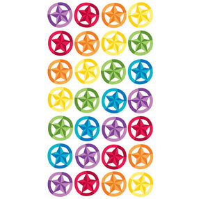 Stars In Circles Stickers_52-00728