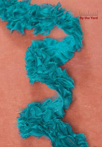 """2"""" Chiffon Rose Chain"""