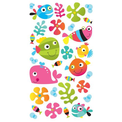 Fun Fish Stickers_52-20322