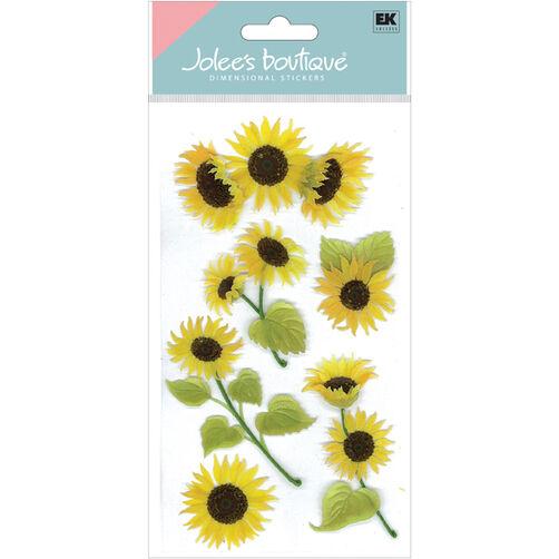 Sunny Sunflowers Stickers_50-50024