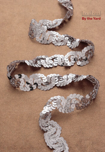 "1-1/4"" Sequin Scroll Braid"