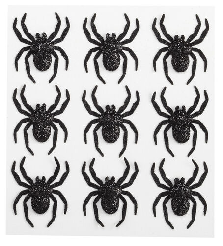 Glitter Spiders  Stickers_50-20997