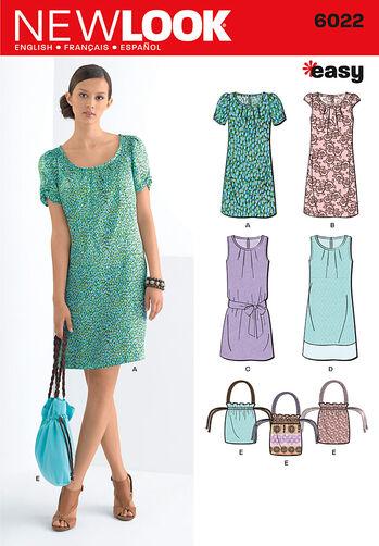 Misses' Dresses & Bag