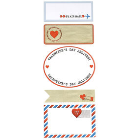 Love Notes Airmail Label Stickers_48-00080