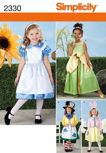 Child's Alice in Wonderland Costumes