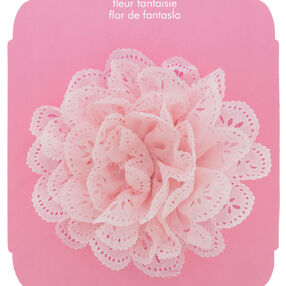 Baby Flower Hair Accessory Clip On Eyelet