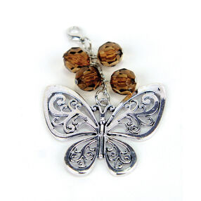 Butterfly Scarf Pendant, _56-61128