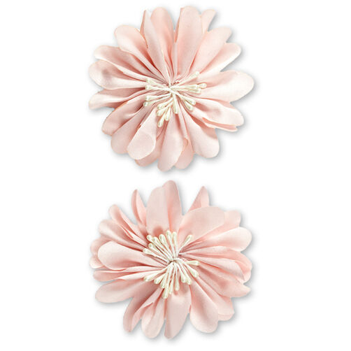 Peach Magnolia Flower Embellishments_50-60384