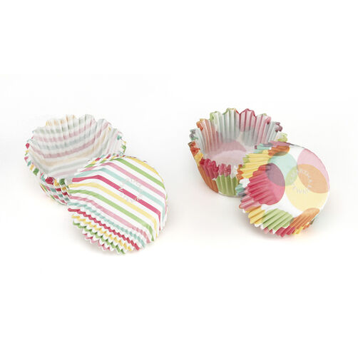 Modern Festive Mini Cupcake Wrappers _44-20027
