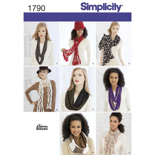 Simplicity Pattern 1790 Scarves